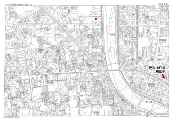 尼崎市食満5丁目 マップ